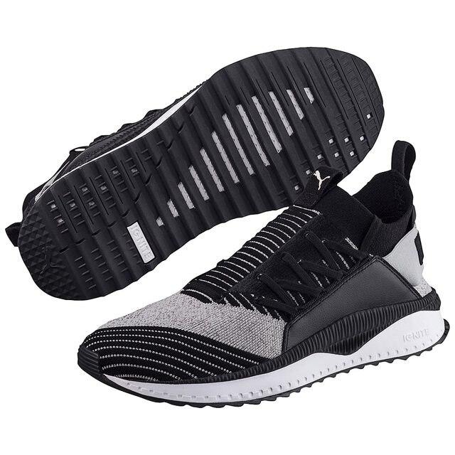 52094e2b7a5716 Original New Arrival 2018 PUMA PUMA TSUGI JUN CUBISM Socks shoes for men s  and women s badminton shoes size 36-44