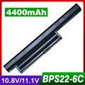 4400mAh laptop battery for SONY BPS22 VGP-BPS22 VGP-BPS22A for VAIO VPC-E1Z1E VPC-EA1 EA16E EA1S EA45FG/B EA1Z1E EA27EC