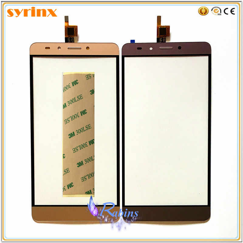 Novaphopat Gold/Gray LCD Screen For Infinix Note 3 X601