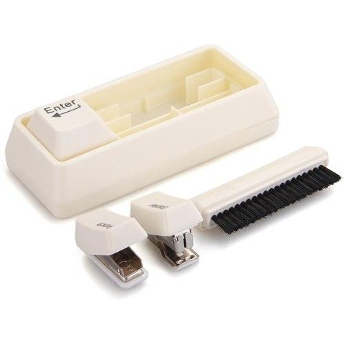 ВГА-клавиатура Стиль стол Канцелярские наборы Степлер Кисточки удар скрепки
