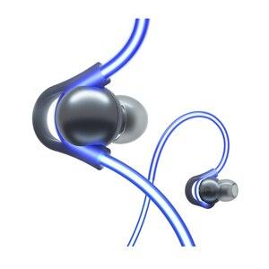 Image 2 - الأصلي Meizu هالو الليزر فلاش سماعة رأس بخاصية البلوتوث في الأذن الرياضة تشغيل سماعة مع مايكروفون سماعات الأذن المغناطيسي لجميع الهواتف OS IOS