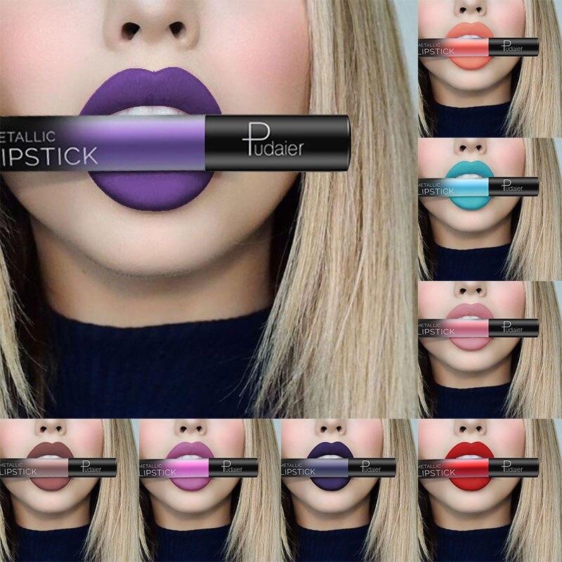 Matte Liquid Lipstick 26 Colors Waterproof Velvet Nude