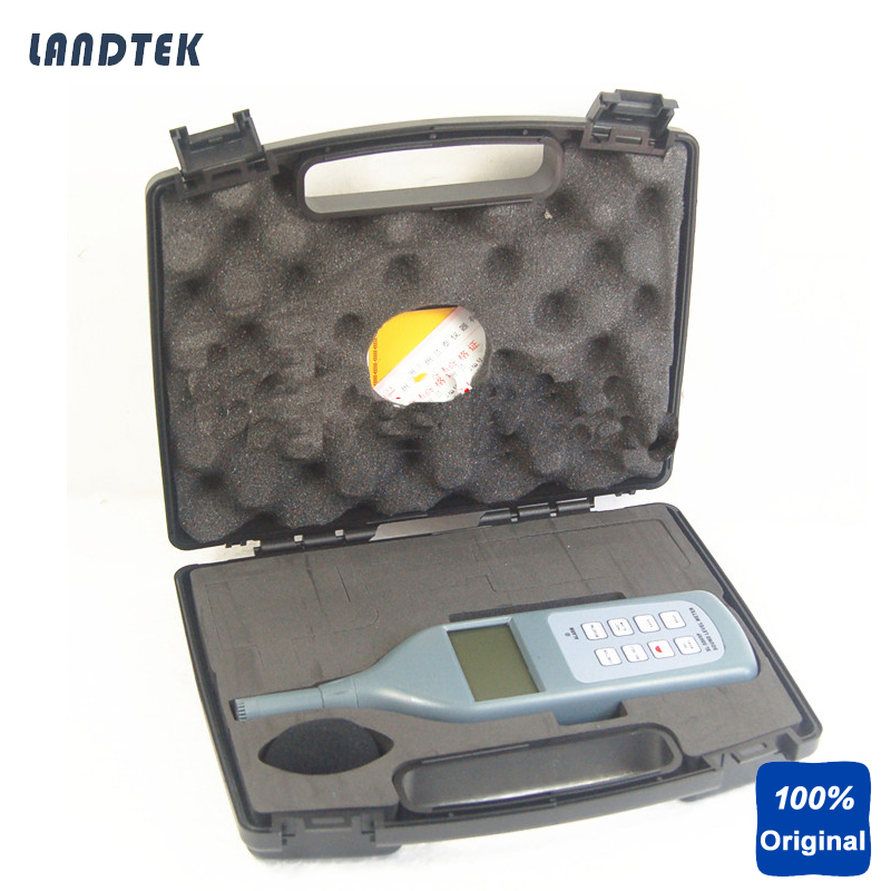 SL5868P Digital Sound Noise Level Meters with Software and Cable