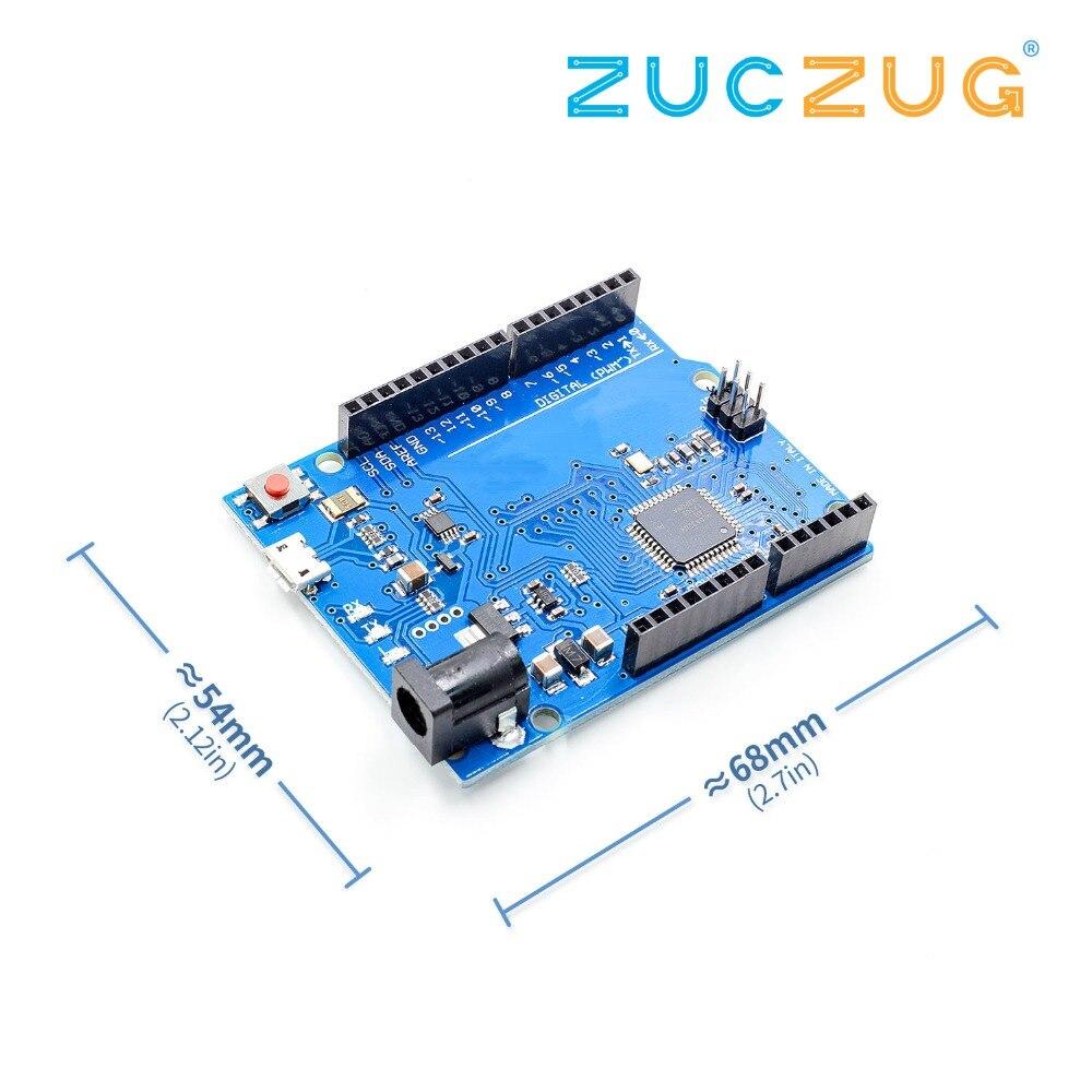 Leonardo R3 bordo di sviluppo Board + Cavo USB compatibile Per Arduino FAI DA TE Starter Kit