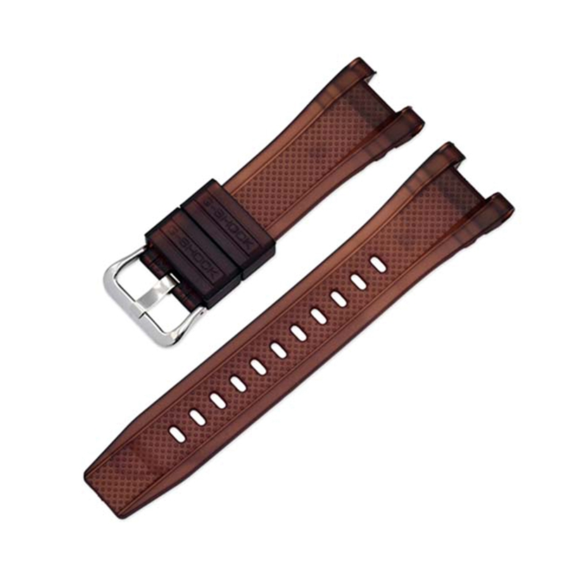 Watch Band Strap Pin Buckled Adjustable Resin Rubber Wristband Wristwatch Bands Replacement Accessories Watch Accessories