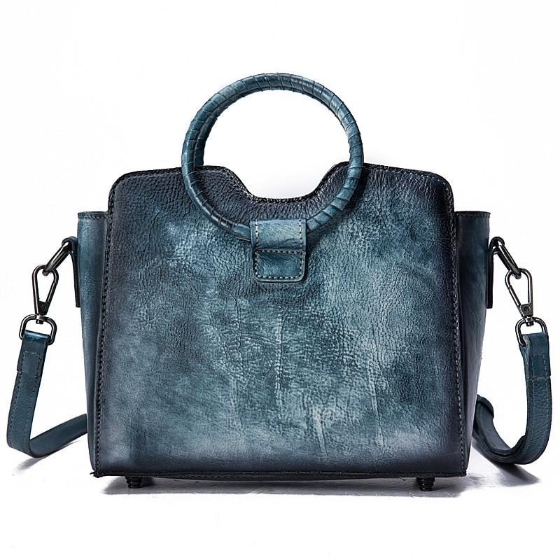Women Single Shoulder Messenger Top Handle Bag Cross Body Handbag Leisure New Tote Purse Brush Color