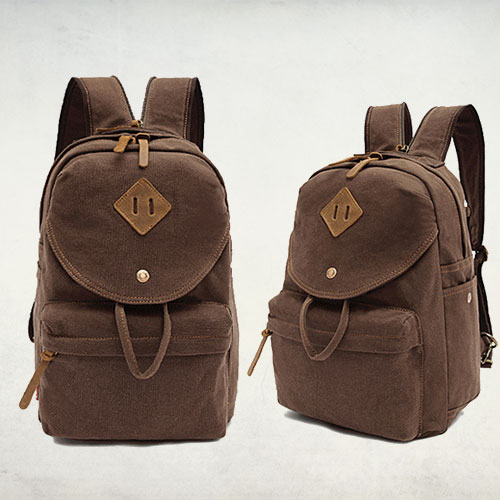 Man Genuine Leather Canvas Chest Bag Women Chest Bag Leather 2015 ...