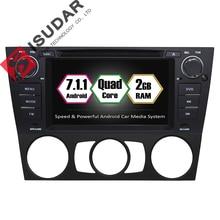 Android 7.1.1 два DIN 7 дюймов dvd-плеер автомобиля для BMW/3 серии E90/E91/E92/ E93 Оперативная память 2 г WI-FI GPS навигационная система Радио FM карты