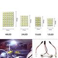 Auto LED T10/BA9S/Festoon 5050 48/24/15/12 SMD luz Del Panel Blanca/blanco caliente blanco/Fresco blanco 12 V Del Coche de Lectura/Cúpula/Trunk lámpara de la bombilla.