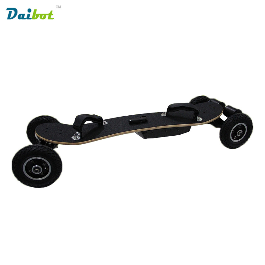 цены 4 Four Wheels Electric Skateboard Hub Motor 1650W*2 Max 11000mAh Electric Scooters Longboard Hoverboard Remote key pneumatic