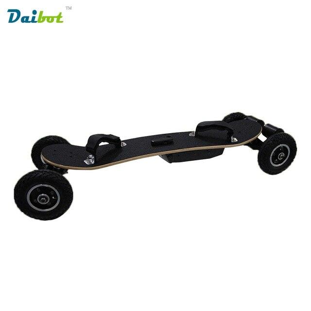 4 Four Wheels Electric Skateboard Hub Motor 1650W*2 Max 11000mAh Electric Scooters Longboard Hoverboard Remote key pneumatic