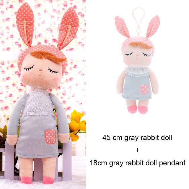 45cm + 18cm ensemble Kawaii peluche Animal dessin animé enfant fille jouet garçon peluche Koala Panda apaiser poupée cadeau danniversaire doux qualité sommeil