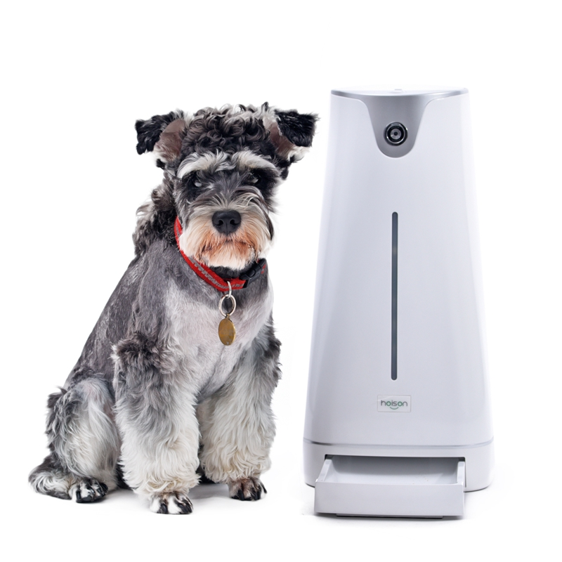New Arrival Automatic Pet Feeder With Lcd Light Dispenser Electronic Timer Programmable Automatic Dog Cat Feeder Fast Delivery Pet Products