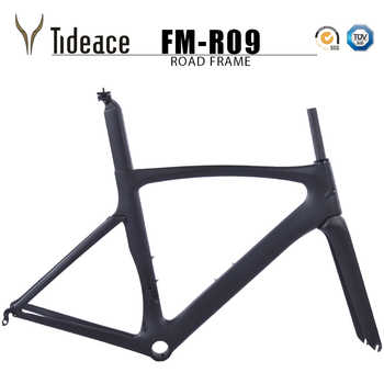 OEM Tideace carbon road bike frameset racing bike frame bicycles C brake carbon road frame cycling bicicletas de carbono frames - DISCOUNT ITEM  30% OFF All Category