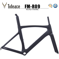 OEM Tideace carbon road bike frameset racing bike frame bicycles carbon road frame cycling frames free shipping