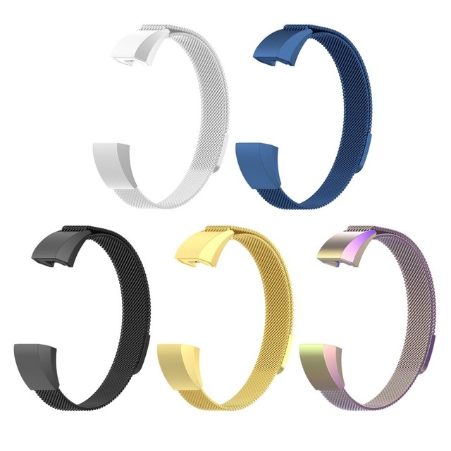 ONLENY Stainless Steel Magnet Replacement Bands Large Small Smart Bracelet