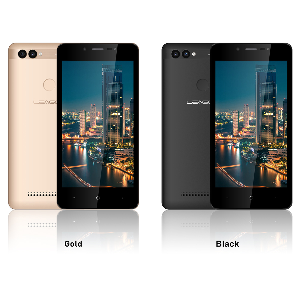 """Image 3 - LEAGOO POWER 2 Mobile Phone Android 8.1 5.0""""HD IPS 2GB RAM 16GB ROM MT6580A Quad Core Dual Camera Fingerprint ID 3G Smartphone-in Cellphones from Cellphones & Telecommunications"""