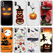 TPU Halloween Capa For iPhone 11 Pro X Xs Max XR 5 SE 6 S 7 8 Plus For Huawei P20 P30 Pro Mate 10 20 30 Lite For Huawei P20 Case(China)