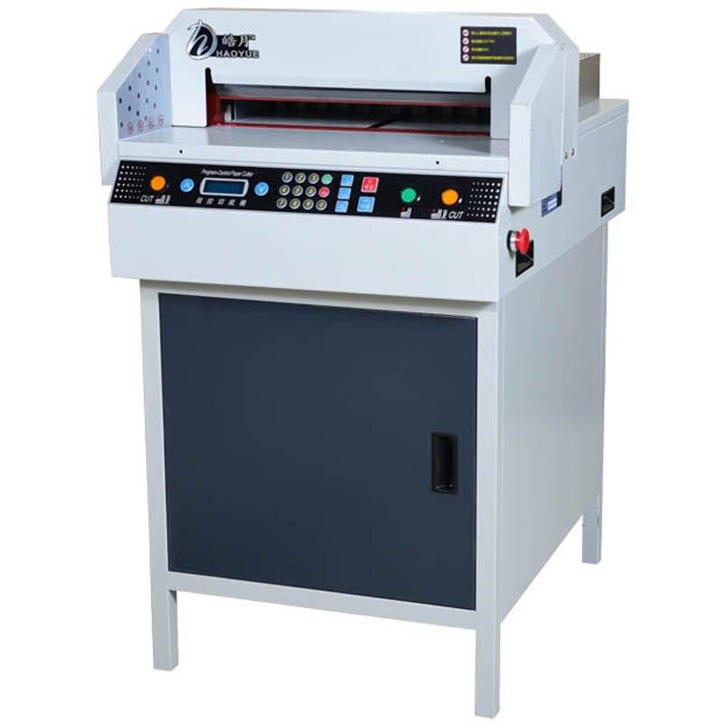G450VS + coupe-papier électrique automatique NC coupe-papier A3 taille papier machine numérique papier trimmer110v/220 v 1 pc