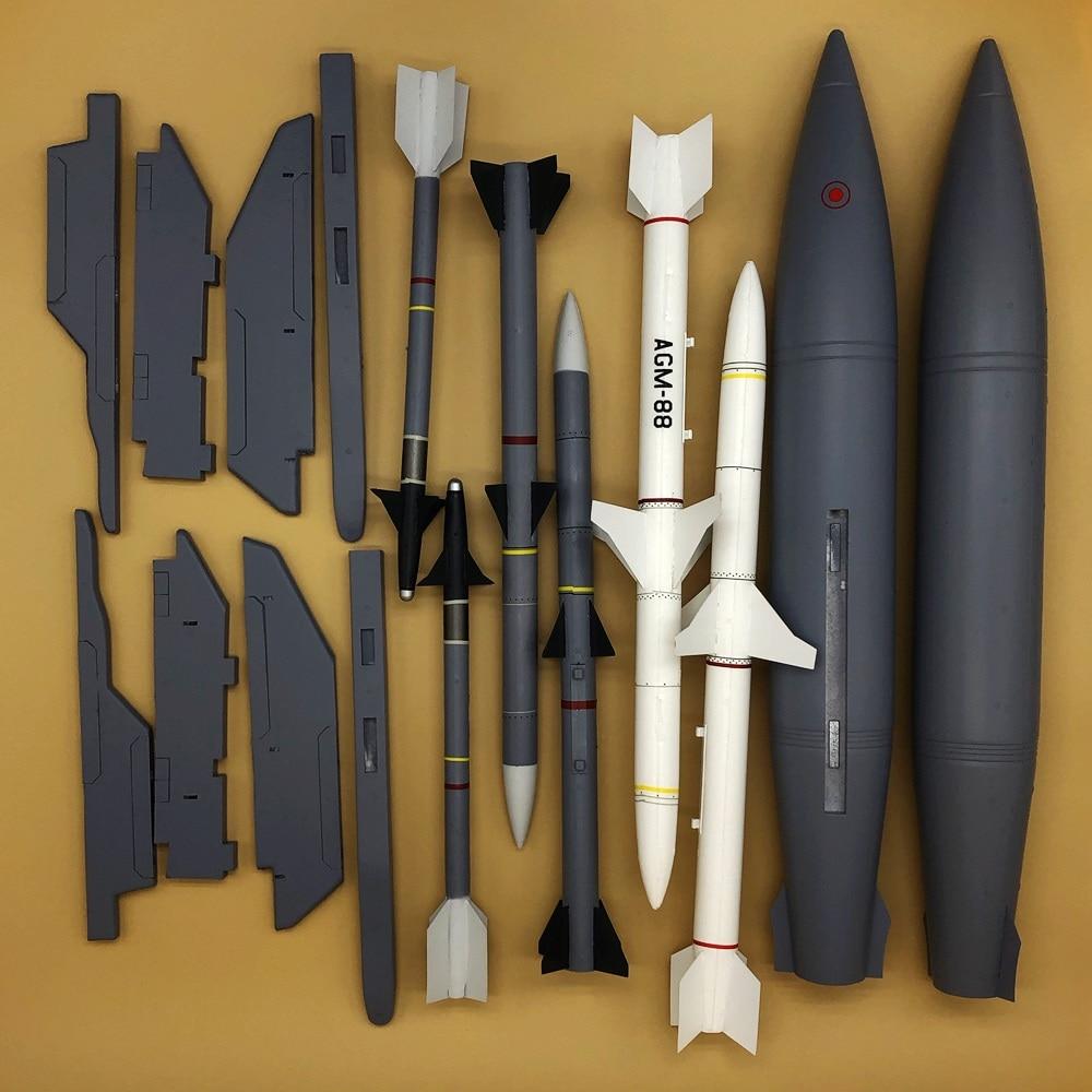 Wapens en pylon set voor Freewing F 16C fighting falcon rc jet vliegtuig F16 90mm edf-in Onderdelen & accessoires van Speelgoed & Hobbies op  Groep 2