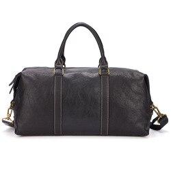 Meesii Lederen Tas voor Mannen Toevallige mannelijke Schoudertas Business Travel Crossbody Messenger Bag