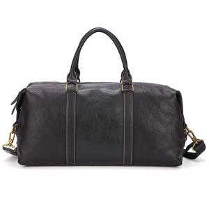 Meesii torba ze skóry naturalnej dla mężczyzn dorywczo męska torba na ramię biznes torba podróżna na ramię torba