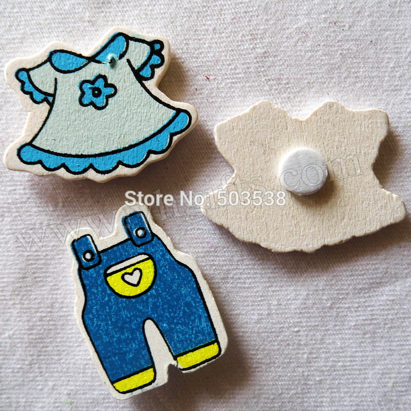 200PCS/LOT,Blue Baby clothes stickers,Kids toys,scrapbooking kit,Early educational DIY.Kindergarten crafts.Classic toys.3cm.