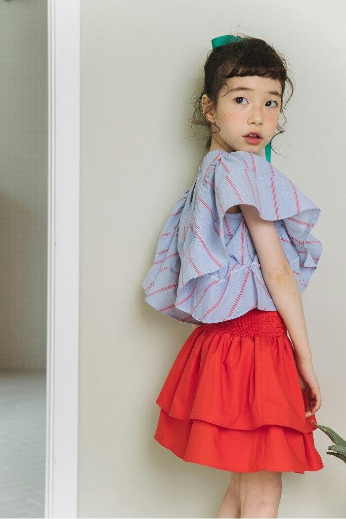 6c16b9809 2018 new autumn spring summer a line elastic waist little big girl skirts  children clothing