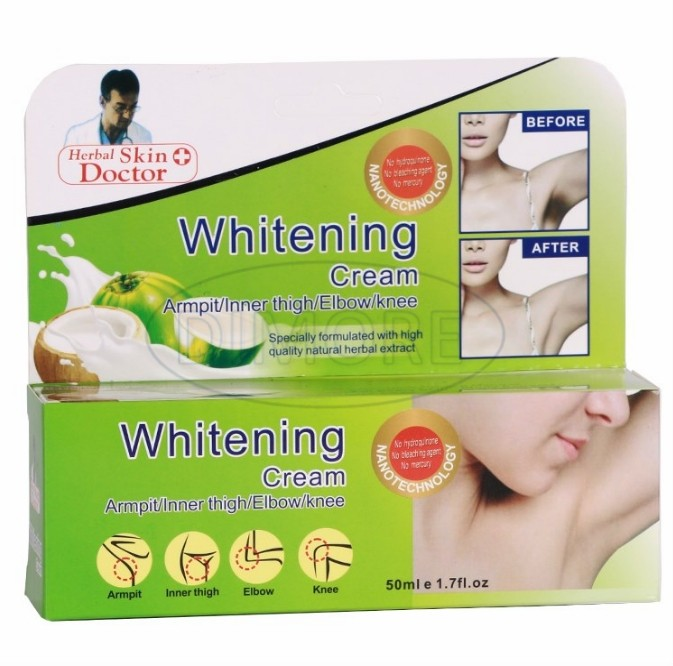 DIMORE strong Armpit whitening cream 50ml Bleaching elbows knee dilute melanin body whitening lotion HOT sale 5