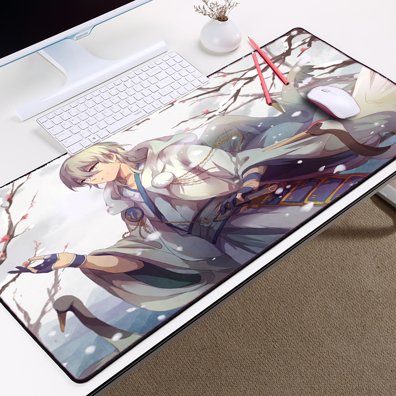 Mairuige Pc Computer Gaming mousepad Professional Diy Pattern Mouse Pad To Tabletop Touken Ranbu Online Anime Style Mouse Mat