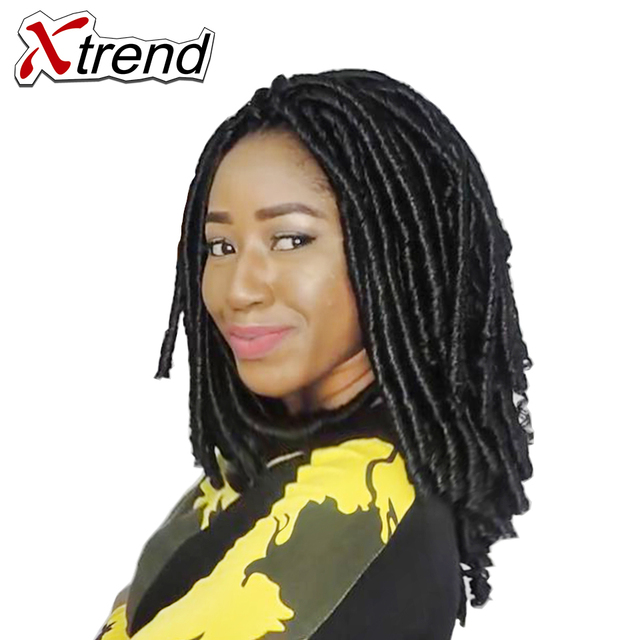 Xtrend Synthetic Dreadlocks Crochet Twist Braid Hair 14inch 30roots ...