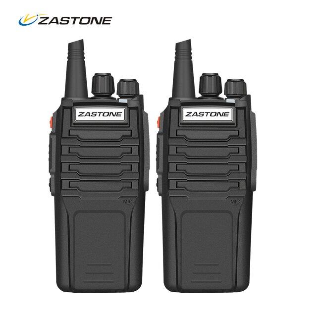 2PCS 10W Radio Zastone A9 UHF 400-480MHz Two Way Radio Walkie Talkie Portable Equipment Communicator