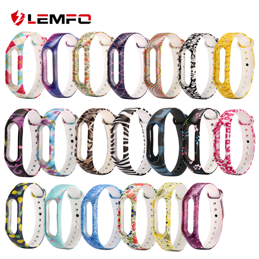 LEMFO Fitness Bracelet Mi-Band 2-Watch strap-Color Xiaomi Sport Silicone for Replacement