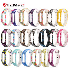 LEMFO Smart Band Sport Fitness Bracelet For Xiaomi Mi Band 2 Watch Strap Color Silicone Replacement Fashion Cute For Women(China)