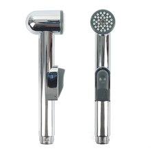 Cabezal de ducha portátil ABS cromado, cabezal de ducha portátil, bidé, pulverizador portátil