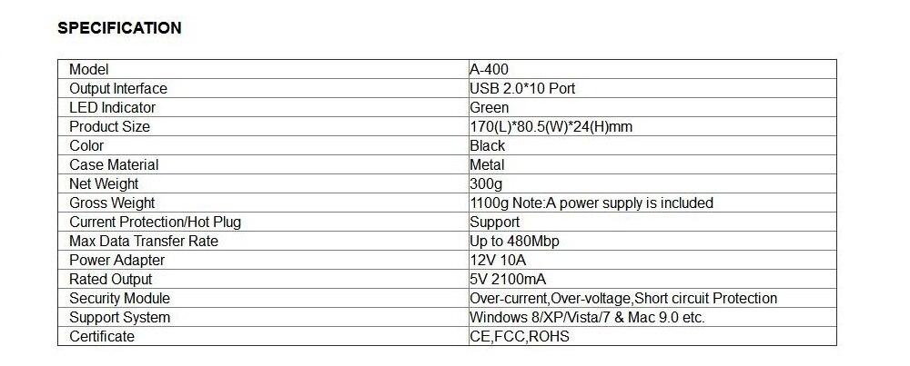 Portable USB Splitter