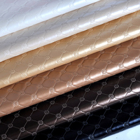 Synthetic Leather Material Silver Vinyl Fabric Artificial Leather Fabric Pu Diy For Background Wall Decorative Ecopelle