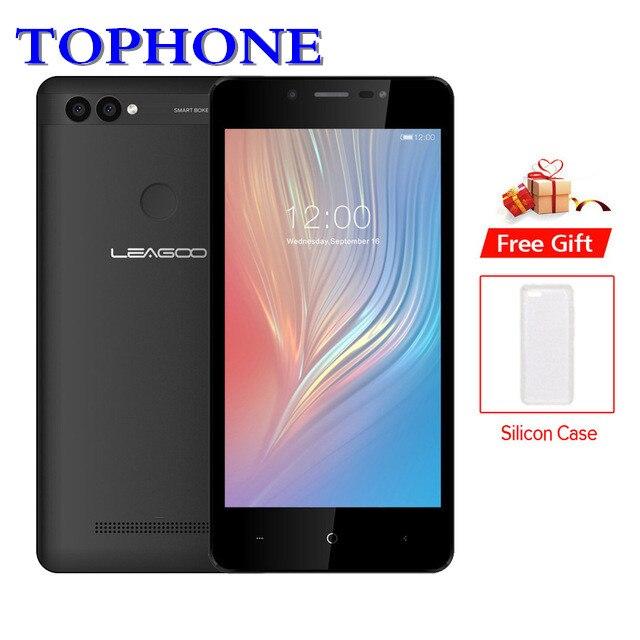 Оригинальный LEAGOO мощность 2 Мобильный телефон 5,0 HD ips 2 ГБ Оперативная память 16 ГБ Встроенная память Android 8,1 mt6580a четыре ядра отпечатков пальце...