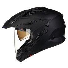 Modular completo y Open Face casco de La Motocicleta Moto Capacetes 613B2 Motociclismo Párrafo Moto Casque Cascos Motocross Cascos