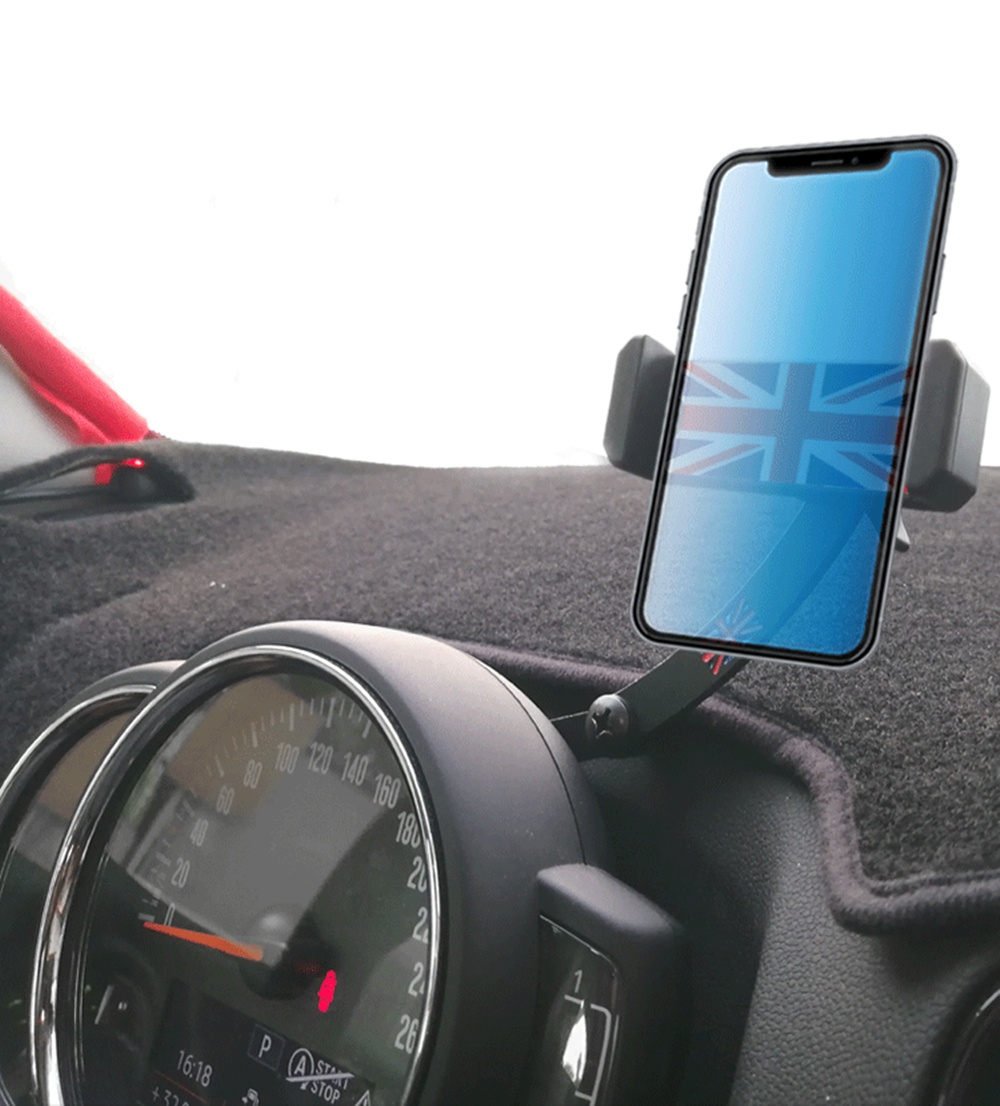 For MINI Cooper One S F55 F56 F60 R55 R56 R60 Countryman Accessories Car Rotatable Mobile Phone Holder GPS Navigation Bracket