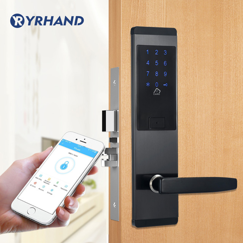 Security Electronic Door Lock, APP WIFI Smart Touch Screen Lock,Digital Code Keypad Deadbolt For Home Hotel ApartmentSecurity Electronic Door Lock, APP WIFI Smart Touch Screen Lock,Digital Code Keypad Deadbolt For Home Hotel Apartment