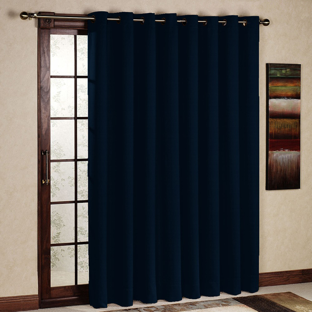Blackout Curtains blackout curtains navy blue : Aliexpress.com : Buy One Panel Per Pack Solid Blackout Thermal ...
