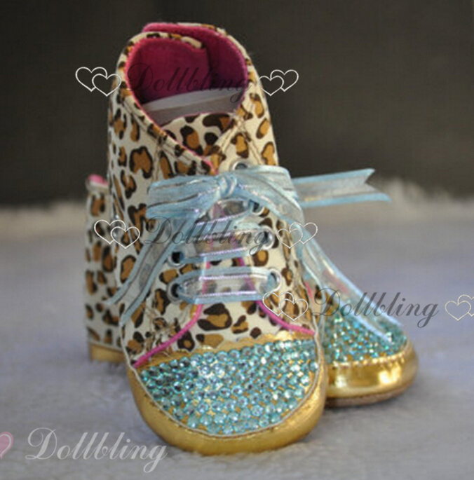 0-1 baby Luxury Crystal Beading Shoes Gloosy Satin Ribbon Bowknot Lace UP High-tops Canvas Shoes Creative Wedding Shoes