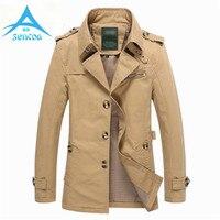 Brand 2017 New High Quality Male Jacket Jackets Long Male Casual Jacket Men Windbreaker Overcoat Spring