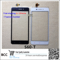 Original Black/white Touch Screen Glass touchscreen Digitizer For lenovo S60-T S60-W free shipping with tracking no.