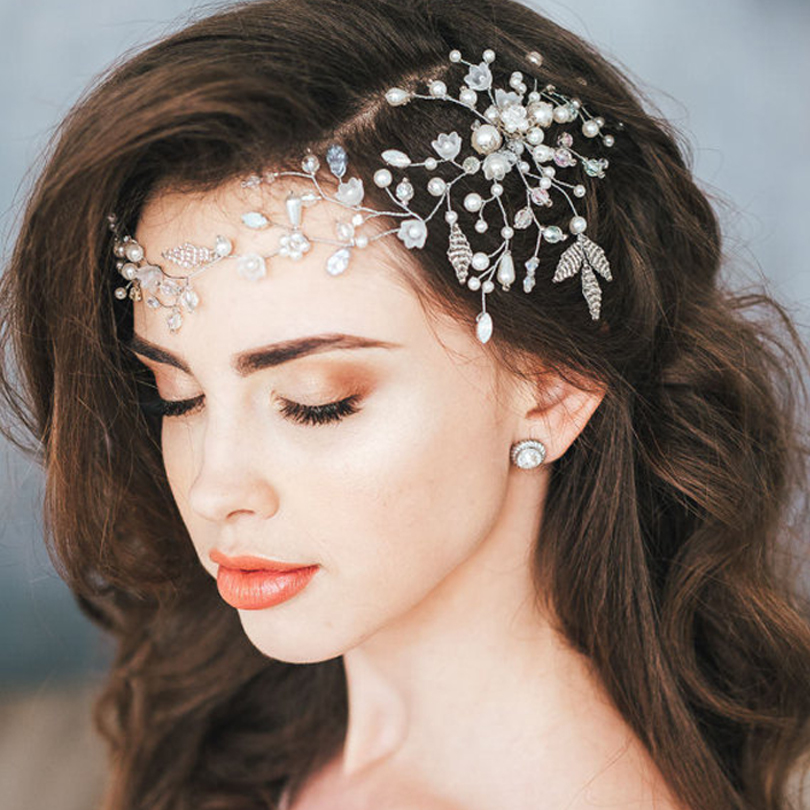 Wedding Accessories Exquisite Handmade Lace Red Butterfly Bridal Hair Accessory3 Large Assortment