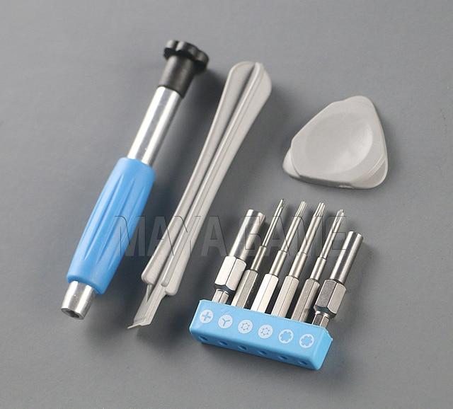 10sets Universal Screwdriver Set Case Unlock Full Tri wing Screwdriver Repair Tool Kit for Nintend Switch/ SNES/ DS/3dsxl/psp