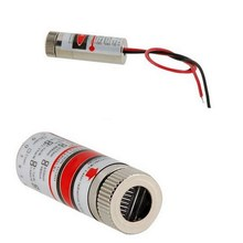 Hot Sale 650nm 5mW Red Point / Line Cross Laser Module Head Glass Lens Focusable Industrial Class