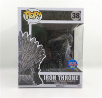 Funko pop Song Of Ice And Fire Game Of Thrones & Iron Throne 38# brinquedos Action Figure toys for children Gift with box