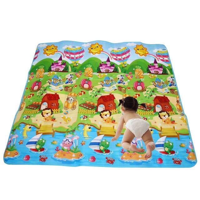 200cm 180cm Baby Crawling Mats Carpet Children Developing Rug Mat Letters Kids
